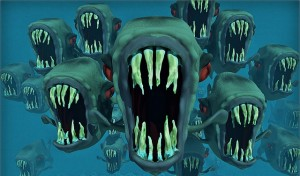 Avoiding the social media piranhas